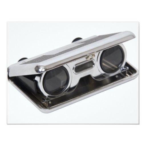 """OperaGlasses072709 Invitación 4.25"""" X 5.5"""""""