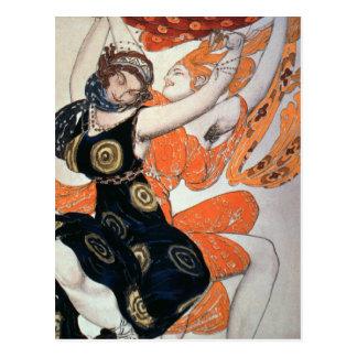 Operatic costume designs 1911 post card