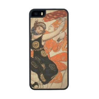 Operatic costume designs, 1911 wood phone case for iPhone SE/5/5s