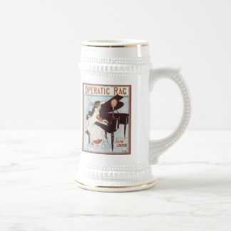 Operatic Rag Vintage Songbook Cover Coffee Mugs
