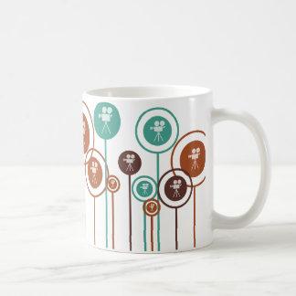 Operating a Camera Daisies Coffee Mug