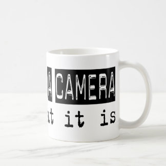 Operating a Camera It Is Classic White Coffee Mug