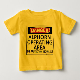 Operating Area Alphorn Baby T-Shirt