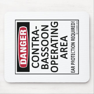 Operating Area Contrabassoon Mouse Pad