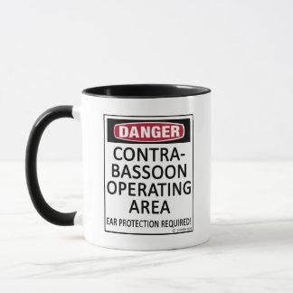 Operating Area Contrabassoon Mug