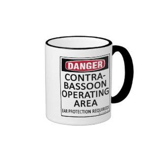 Operating Area Contrabassoon Mugs