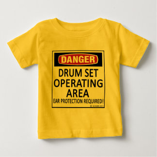 Operating Area Drum Set Baby T-Shirt