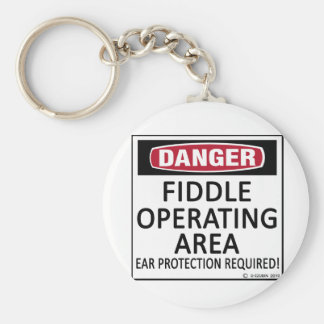 Operating Area Fiddle Keychain