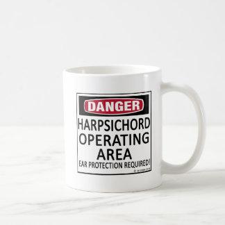 Operating Area Harpsichord Coffee Mugs