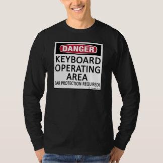 Operating Area Keyboard Shirts