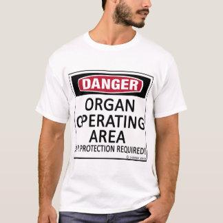 Operating Area Organ T-Shirt