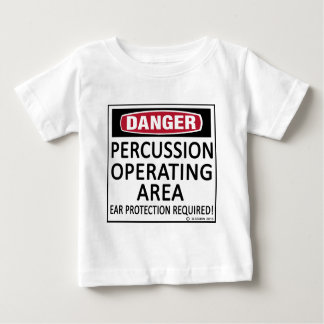 Operating Area Percussion Baby T-Shirt