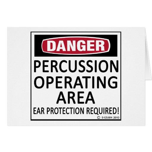 Operating Area Percussion Card