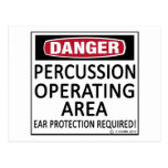Operating Area Percussion Post Card