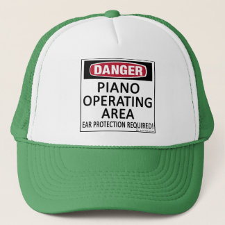 Operating Area Piano Trucker Hat
