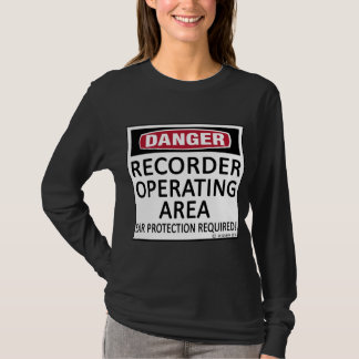 Operating Area Recorder T-Shirt