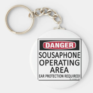 Operating Area Sousaphone Keychain