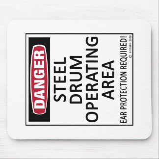 Operating Area Steel Drum Mouse Pad