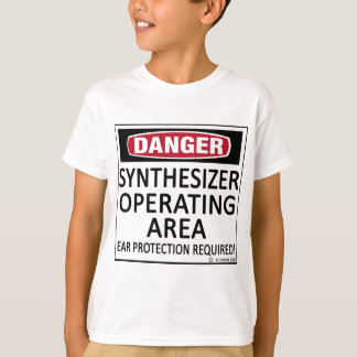 Operating Area Synthesizer T-Shirt