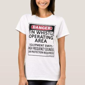 Operating Area Tin Whistle T-Shirt