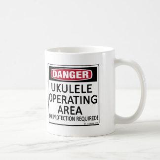 Operating Area Ukulele Mug