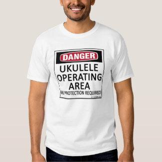 Operating Area Ukulele T-Shirt