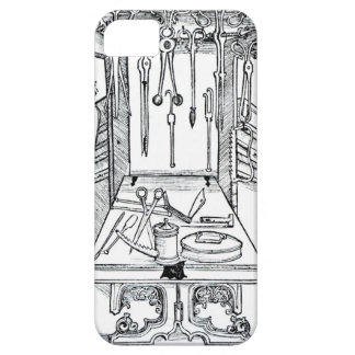 Operating table and surgical instruments, from 'Da iPhone SE/5/5s Case