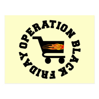 Operation Black Friday Post Cards