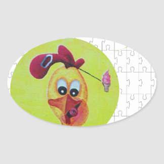 Operation chicken head sticker