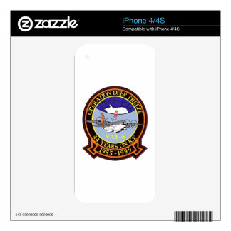 Operation Deep Freeze Decals For The iPhone 4S