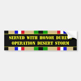 Operation Desert Storm Bumper Sticker