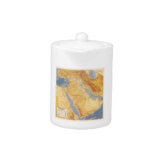 Operation Desert Storm Planning Map (1991) Teapot