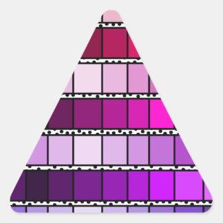 Operation drop triangle sticker