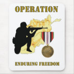 Operation Enduring Freedom Afghanistan War Mousepa Mousepads