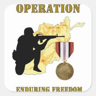 Operation Enduring Freedom Afghanistan War Sticker