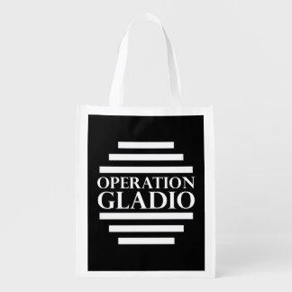 Operation Gladio Reusable Grocery Bag