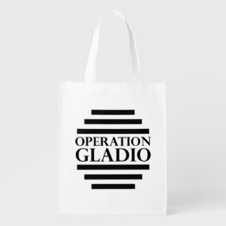 Operation Gladio Reusable Grocery Bags