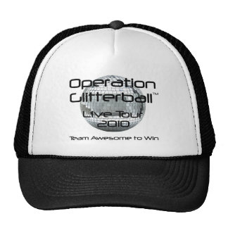 Operation Glitterball: The Live Tour Hat