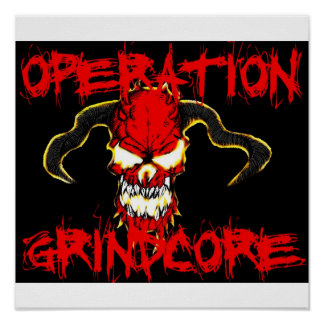 Operation Grindcore Poster