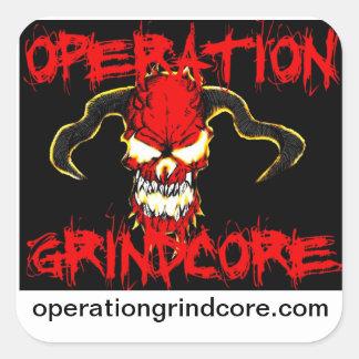 Operation Grindcore Sticker