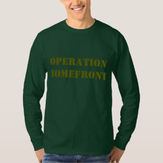 """Operation Homefront"" t-shirt"