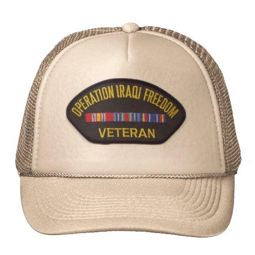 OPERATION IRAQ FREEDOM MESH HAT