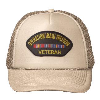 OPERATION IRAQ FREEDOM TRUCKER HAT