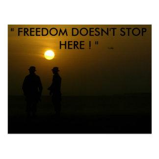 "Operation Iraqi Freedom-1 387, "" FREEDOM DOESN'... Postcard"