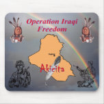 Operation Iraqi Freedom Mousepads