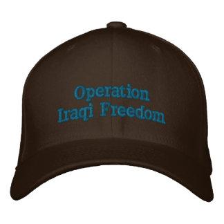 Operation Iraqi Freedom Personalized Embroidered Baseball Cap