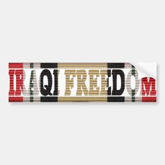 Operation Iraqi Freedom Veteran ICM Sticker Car Bumper Sticker