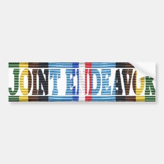Operation Joint Endeavor Yugoslavia AFEM Sticker Car Bumper Sticker