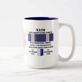 Operation Joint Endeavour Two-Tone Coffee Mug