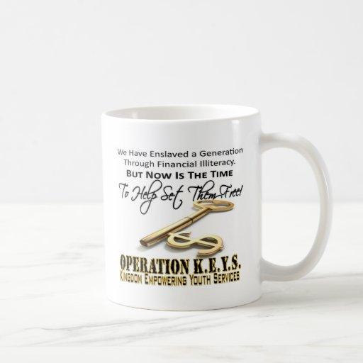 Operation KEYS Coffee Mugs